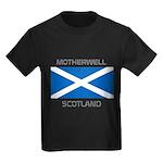 Motherwell Scotland Kids Dark T-Shirt