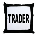 Trader Throw Pillow