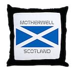 Motherwell Scotland Throw Pillow