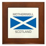 Motherwell Scotland Framed Tile