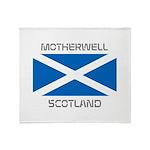 Motherwell Scotland Throw Blanket