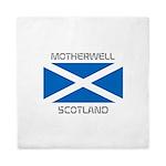 Motherwell Scotland Queen Duvet
