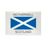 Motherwell Scotland Rectangle Magnet (100 pack)