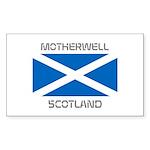 Motherwell Scotland Sticker (Rectangle 10 pk)
