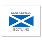 Motherwell Scotland Small Poster