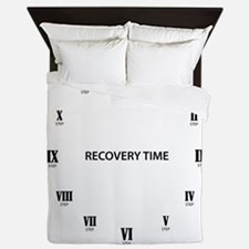 Recovery Time Queen Duvet