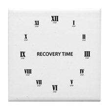 Recovery Time Tile Coaster