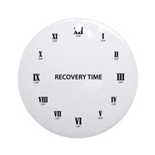 Recovery Time Round Ornament