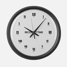 Recovery Time Large Wall Clock