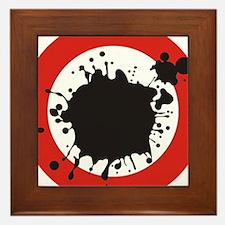 Splat! Framed Tile