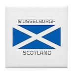Musselburgh Scotland Tile Coaster