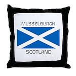 Musselburgh Scotland Throw Pillow