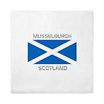 Musselburgh Scotland Queen Duvet