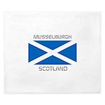 Musselburgh Scotland King Duvet