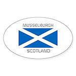Musselburgh Scotland Sticker (Oval 10 pk)