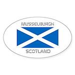 Musselburgh Scotland Sticker (Oval 50 pk)