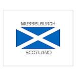 Musselburgh Scotland Small Poster