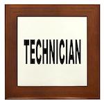 Technician Framed Tile