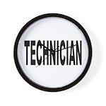 Technician Wall Clock