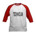 Technician (Front) Kids Baseball Jersey