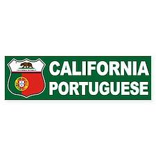 California Portuguese American Bumper Bumper Sticker