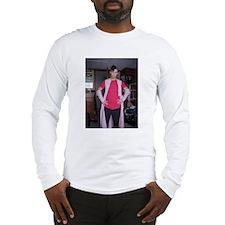 Ryan Byrn Gundam Warrior Long Sleeve T-Shirt
