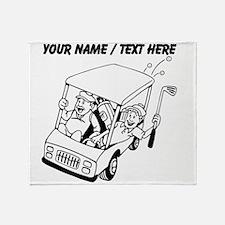 Custom Golf Cart Throw Blanket