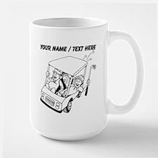 Custom Golf Cart Mugs