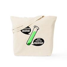 Solution or Precipitate Tote Bag