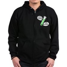 Solution or Precipitate Zip Hoodie