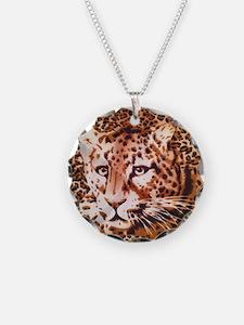 modern leopard print Necklace