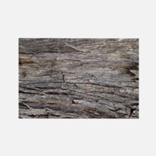 grey bark Rectangle Magnet
