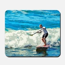 Paddleboarder Mousepad
