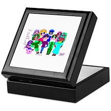 Cartoon-Big Eyed Sunglasses Kids Keepsake Box