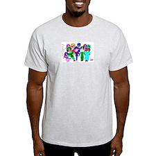 Cartoon-Big Eyed Sunglasses Kids T-Shirt