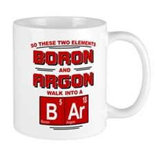 Boron & Argon Walk Into A BAr Mug