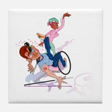 Handicap Slap! Tile Coaster