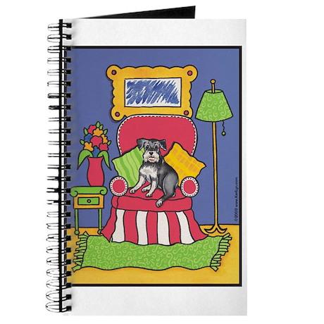"""Sitting Pretty"" Schnauzer Journal"