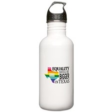 Equality should be bigger in Texas blk font Water