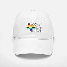 Equality should be bigger in Texas blk font Baseba
