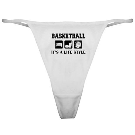 Sleep Eat Play Basketball Classic Thong