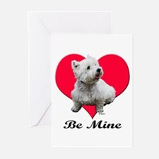 Sitting Westie Greeting Cards (Pk of 10)