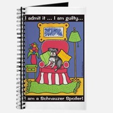 "Schnauzer ""Spoiler"" Journal"