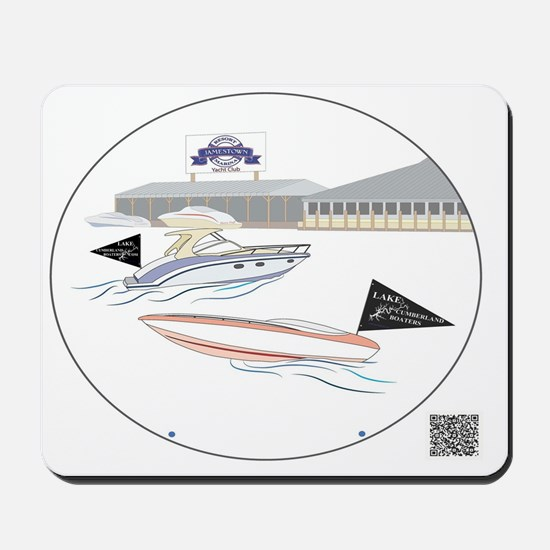 LakeCumberlandBoatersJRMDesign Mousepad