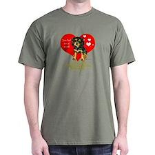 Cavalier King Charles Spaniel Heart T-Shirt