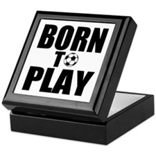 Born to Play Keepsake Box