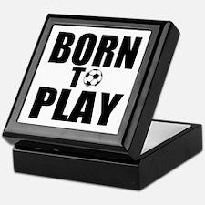 Born to Play Keepsake Box