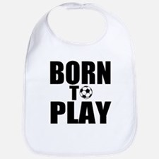 Born to Play Bib