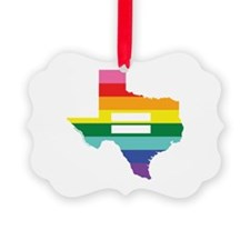 Texas equality Ornament