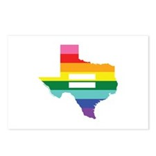 Texas equality Postcards (Package of 8)